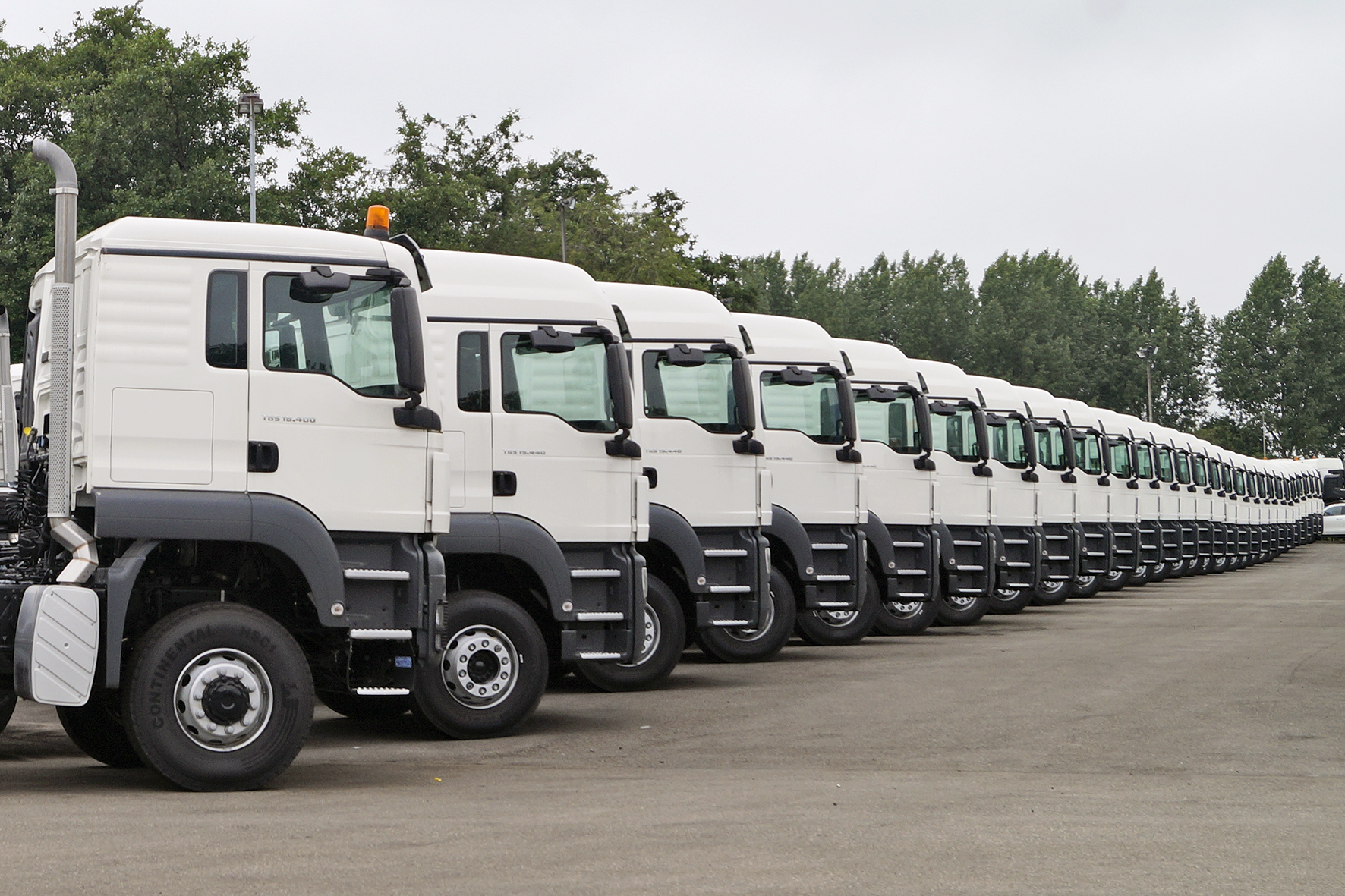 Large stock new Trucks for direct delivery