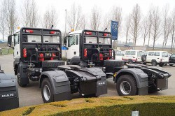Tractor units made to measure