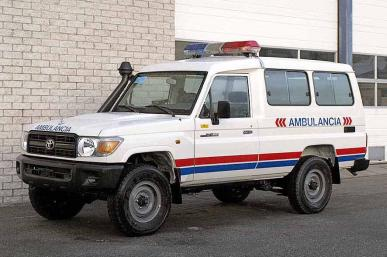 TOYOTA LANDCRUISER AMBULANCE