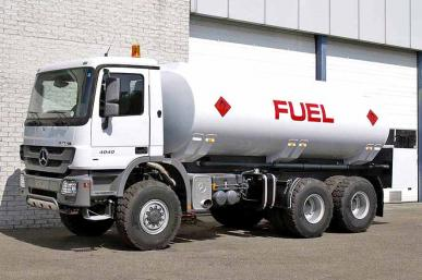 MERCEDES ACTROS 3341 FUEL