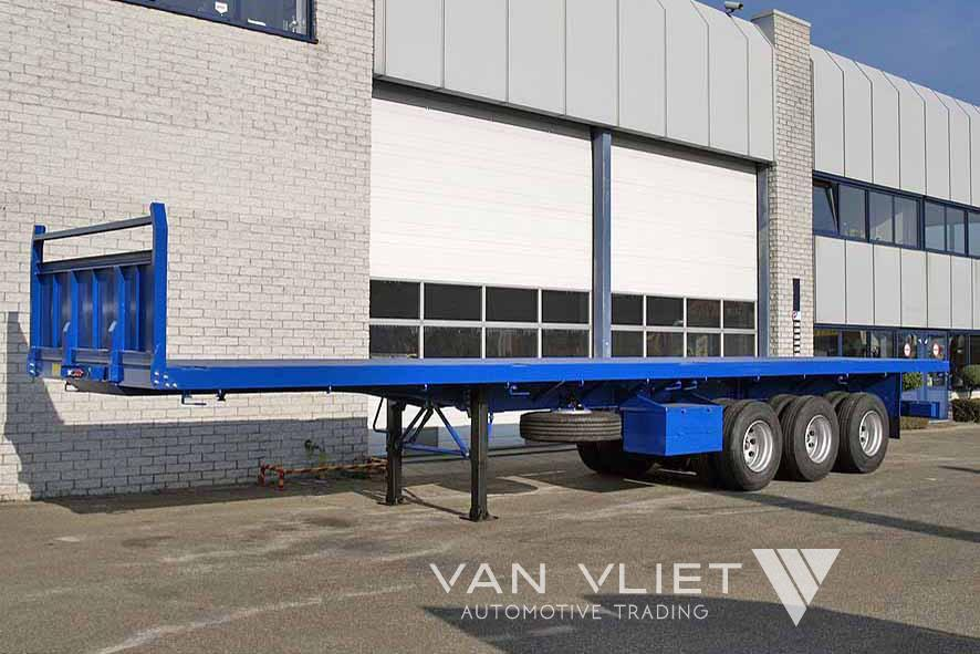 LOHR 40FT 3 AXLE FLATBED TRAILER
