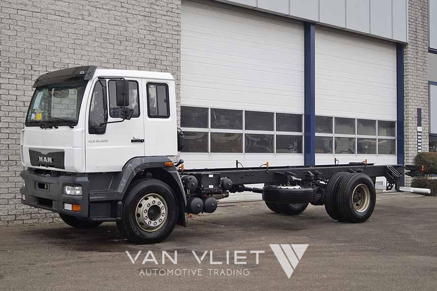 MAN CLA 16.220 BB 4X2 CHASSIS CABIN