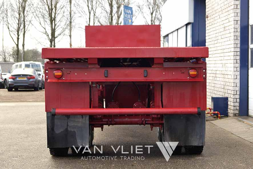 EUROMAX 40FT 2 AXLE FLATBED TRAILER
