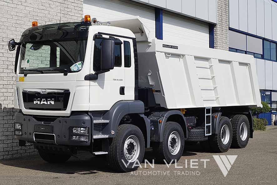 MAN TGS 41.400 BB-WW AUT. 8X4 TIPPER TRUCK