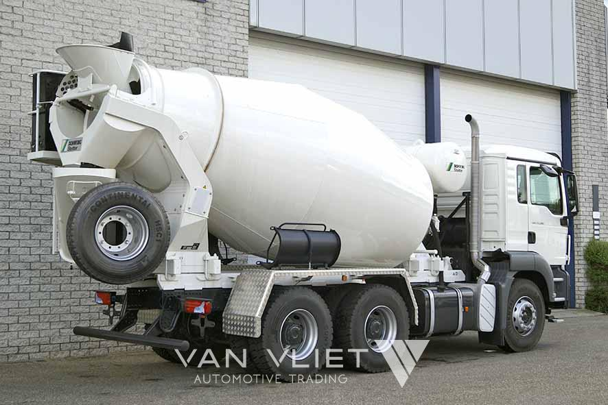 MAN TGS 33.360 BB-WW 6X4 CONCRETE MIXER