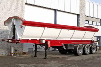 INVEPE SEBL 11025 3 AXLE SIDE TIPPING TRAILER