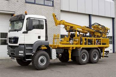 MAN TGS 33.440 BB-WW 6X6 DRILLING RIG