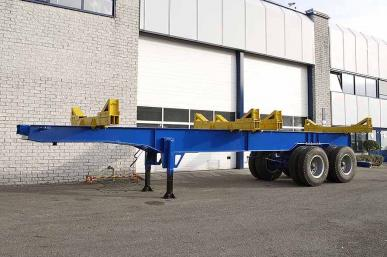 LEGRAS 11M000 2 AXLE LOGGING TRAILER
