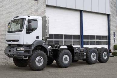 RENAULT KERAX 8X8 CHASSIS CABIN