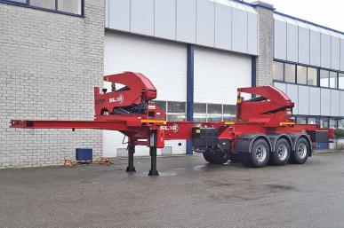 INVEPE SLD 36R 3 AXLE SIDE LOADER TRAILER