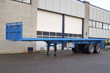 INVEPE SPAF 2DBB 12640 2 AXLE FLATBED TRAILER
