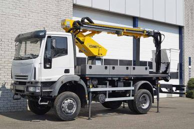 IVECO EUROCARGO ML110E21W 4X4 TOWER WAGON