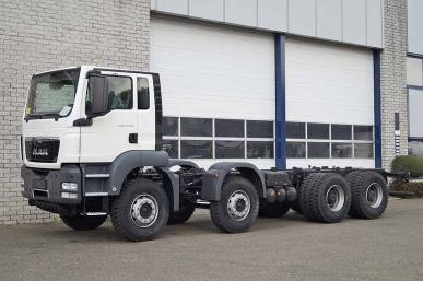MAN TGS 41.360 BB-WW 8X4 CHASSIS CABIN