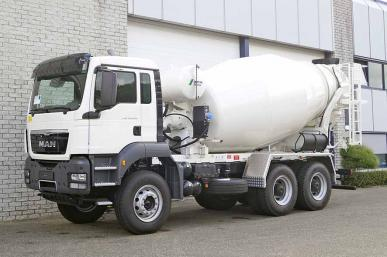 MAN TGS 40.400 BB-WW 6X4 CONCRETE MIXER