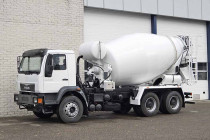 MAN CLA 26.280 BB 6X4 CONCRETE MIXER