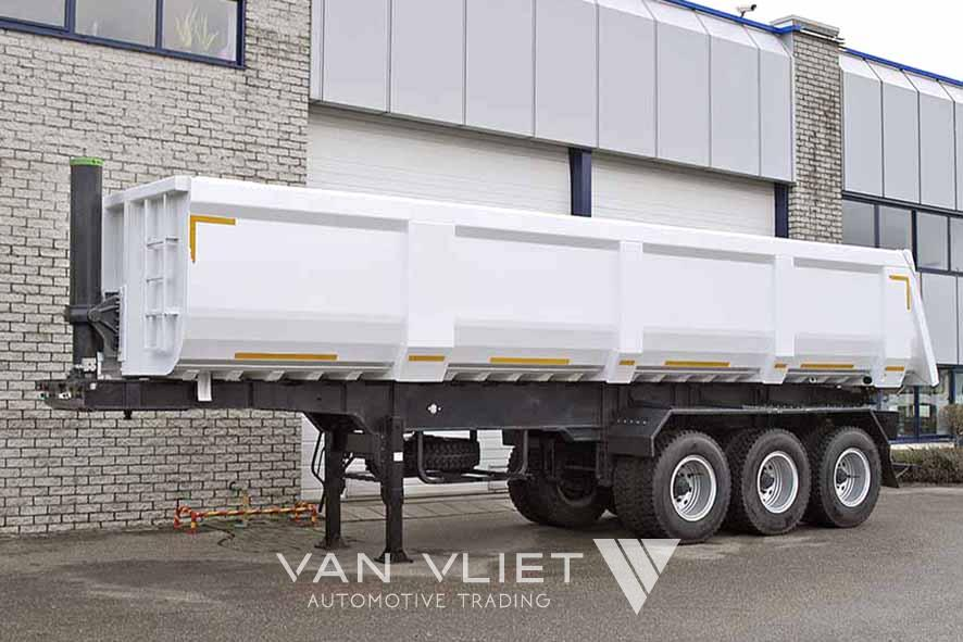 EUROMAX RT 40T3 3 AXLE TIPPER TRAILER