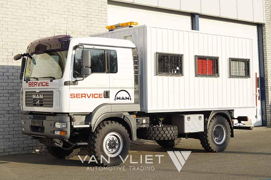 MAN TGM 13.240 BB 4X4 MOBILE WORKSHOP TRUCK