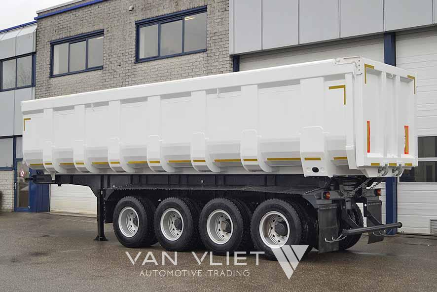 EUROMAX 44RT4W 4 AXLE TIPPER TRAILER