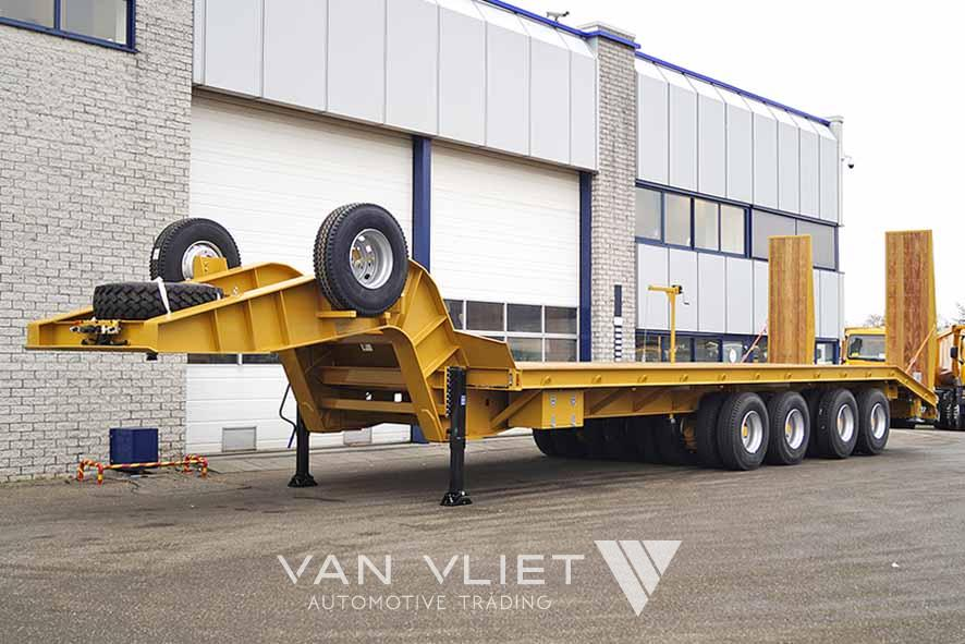EUROMAX STI 120 4MD 8 AXLE LOWBED TRAILER