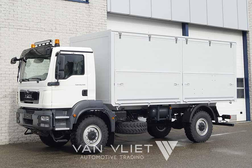 MAN TGM 18.240 BB 4X4 MOBILE WORKSHOP