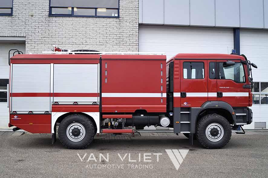 MAN TGM 18.240 BB 4X4 FIRE ENGINE TRUCK