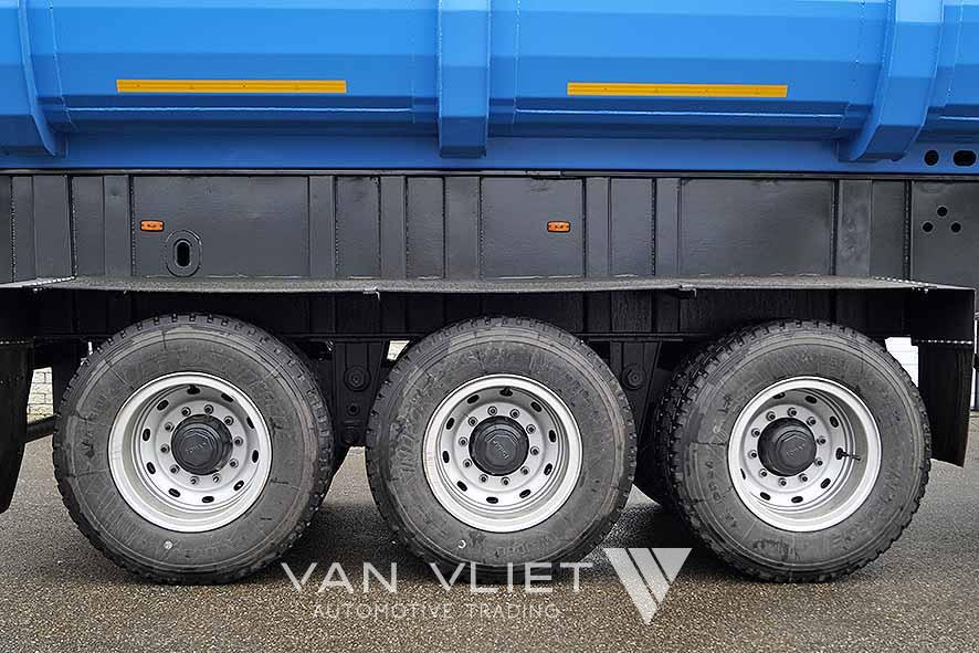 ATM B-DOUBLE 6 AXLE SIDE TIPPER TRAILER