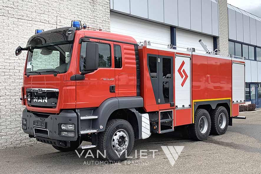 MAN TGS 33.400 BB-WW 6X4 FIRE FIGHTING TRUCK