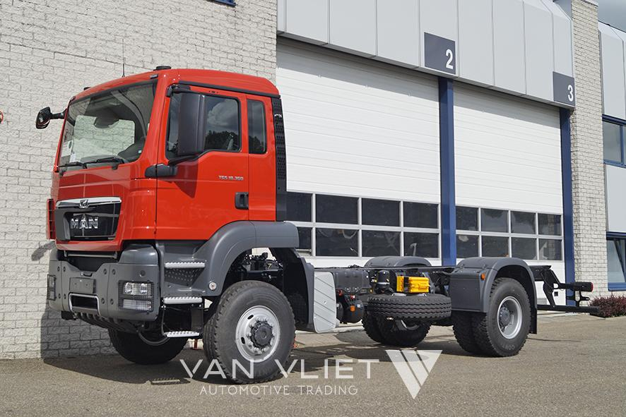 11x MAN TGS 18.360 BB-WW 4500mm CHASSIS CABIN