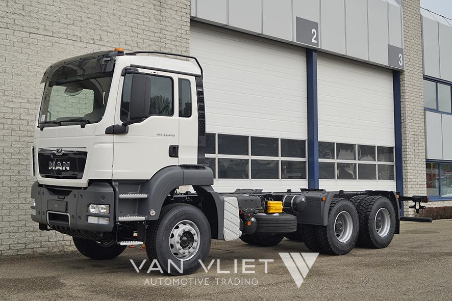 11x MAN TGS 33.400 BB 3900mm CHASSIS CABIN