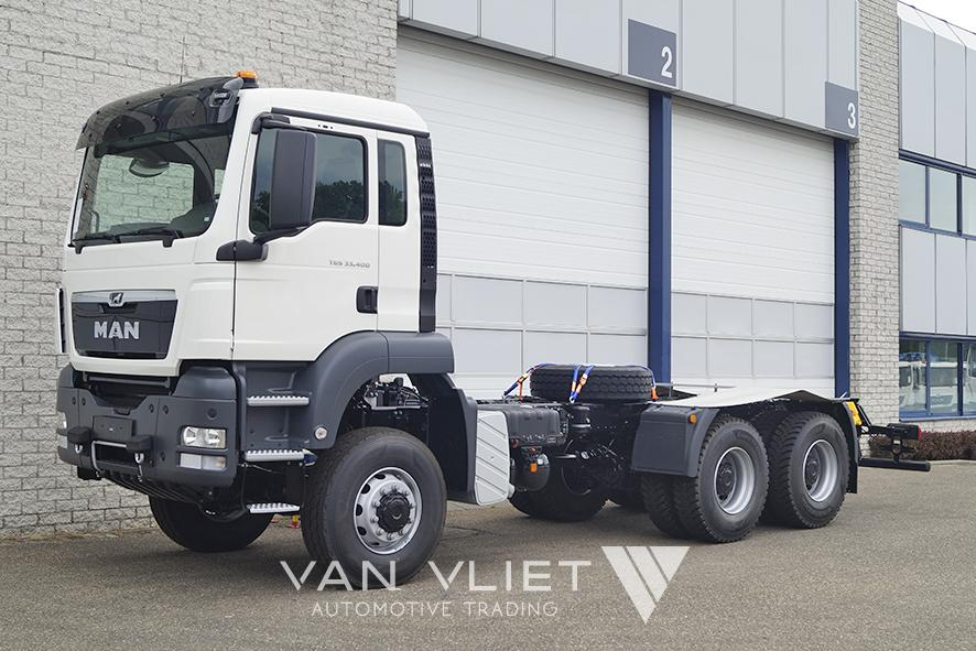 10x MAN TGS 33.400 BB-WW 3900mm CHASSIS CABIN