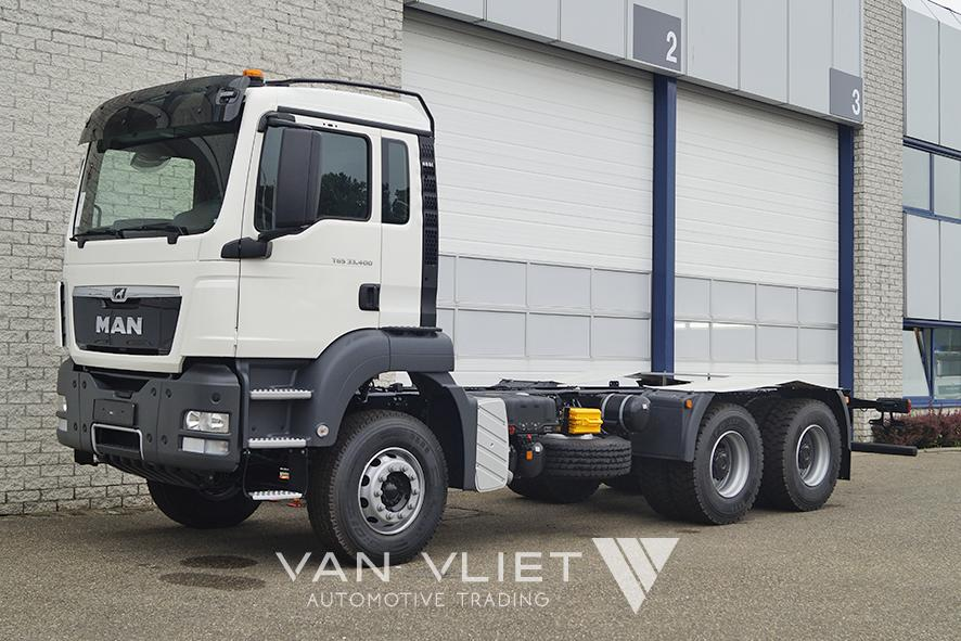 15x MAN TGS 33.400 BB-WW 3900mm CHASSIS CABIN