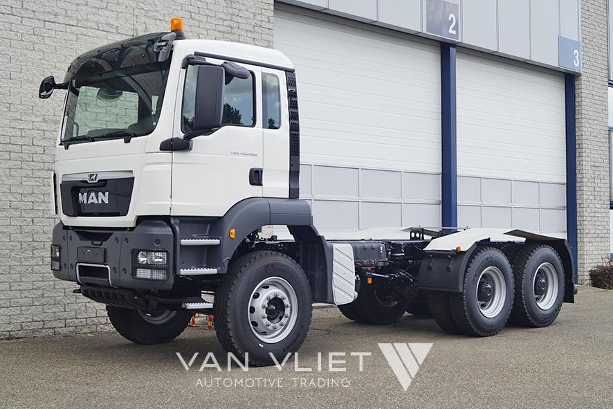 3x MAN TGS 40.400 BB-WW 3900mm CHASSIS CABIN