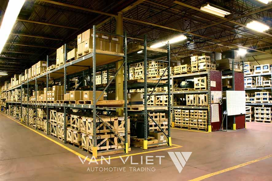 PARTS SERVICE:  Supplying new parts from stock is one of the strengths of the Van Vliet total programme. Van Vliet offers parts for all leading makes and is capable of shipping the parts quickly. In case of emergency by 24-hour courier service.