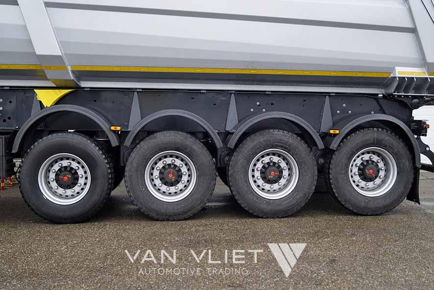 WIELTON NW4 4 AXLE TIPPER TRAILER