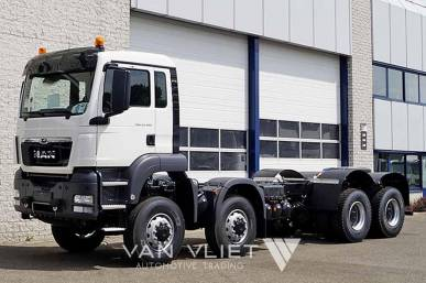 MAN TGS 41.480 BB-WW 8x8 CHASSIS CABIN