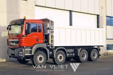 MAN TGS 41.400 BB-WW 8X4 TIPPER TRUCK TIPMATIC