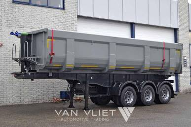 MITRAX 32T 3 AXLE TIPPER TRAILER 32 M3
