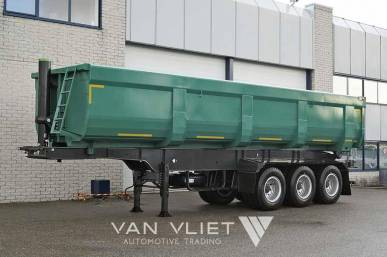 MITRAX 40T 3 AXLE TIPPER TRAILER 40 M3
