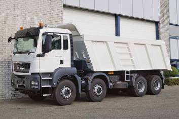 MAN TGS 41.400 BB-WW 8X4 TIPPER TRUCK MANUAL