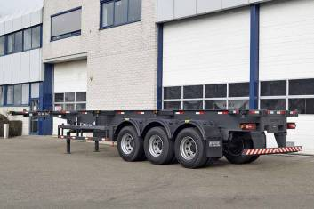 RODOTEC 40FT 3 AXLE CONTAINER TRAILER