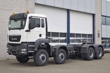MAN TGS 41.440 BB-WW 8x8 CHASSIS CABIN