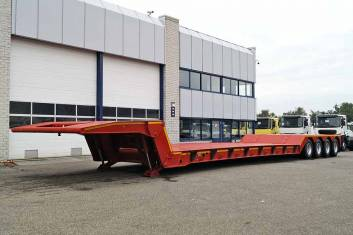 INVEPE SRPM 4DMF 190PH 4 AXLE LOWBED TRAILER