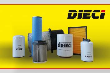 DIECI FILTER KIT 4x4 SELF LOADER CONCRETE MIXER