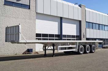 CIMC 3 AXLE CONTAINER TRAILER