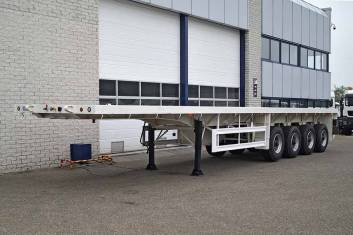 CIMC 4 AXLE FLATBED TRAILER