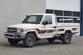TOYOTA LAND CRUISER HZJ79L 4X4 SINGLE CAB PICK-UP