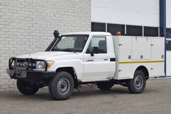 TOYOTA LAND CRUISER 4X4 MOBILE WORKSHOP TRUCK
