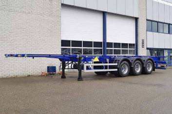 GRÜNWALD VCST HD 3 AXLE CONTAINER TRAILER