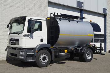 MAN TGM 18.240 BB BITUMEN TANK SPRAYER