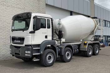 MAN TGS 44.400 BB-WW 8X4 CONCRETE MIXER